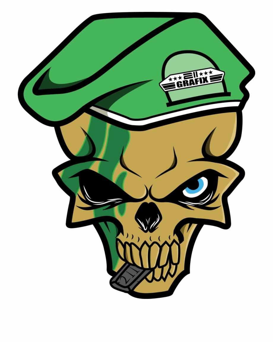 211 Skull Logo.