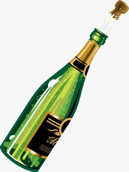 Champaign clipart champagne bottle, Champaign champagne.