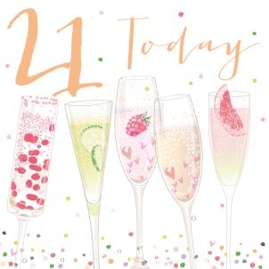 Download High Quality champagne clipart 21st Transparent PNG.