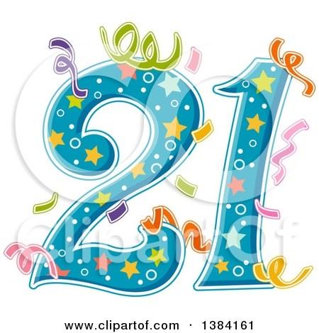 Clipart 21st birthday 8 » Clipart Portal.