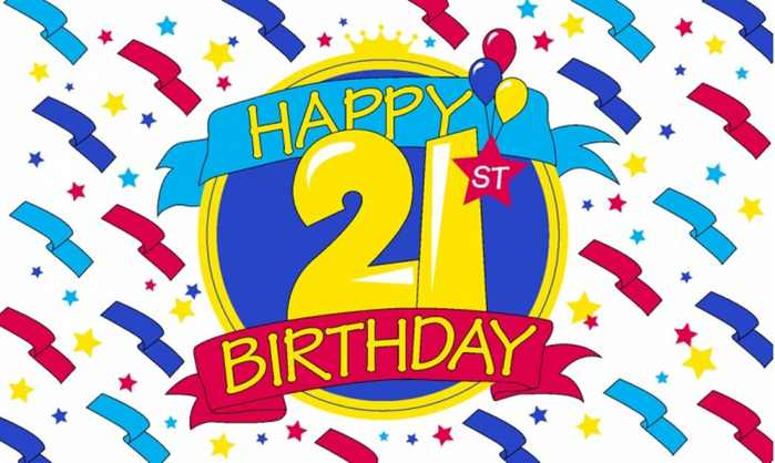 Free Happy 21st Birthday, Download Free Clip Art, Free Clip Art on.