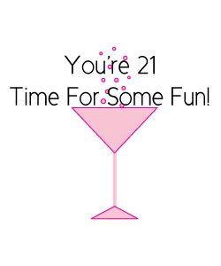 Free 21st Birthday Clipart.