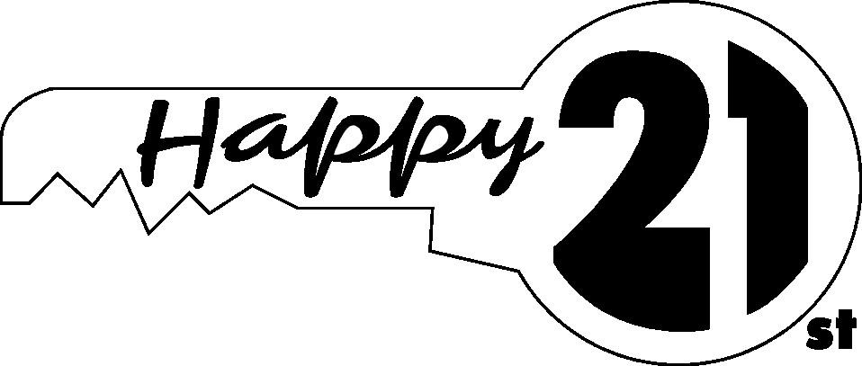 21st Birthday Clipart.