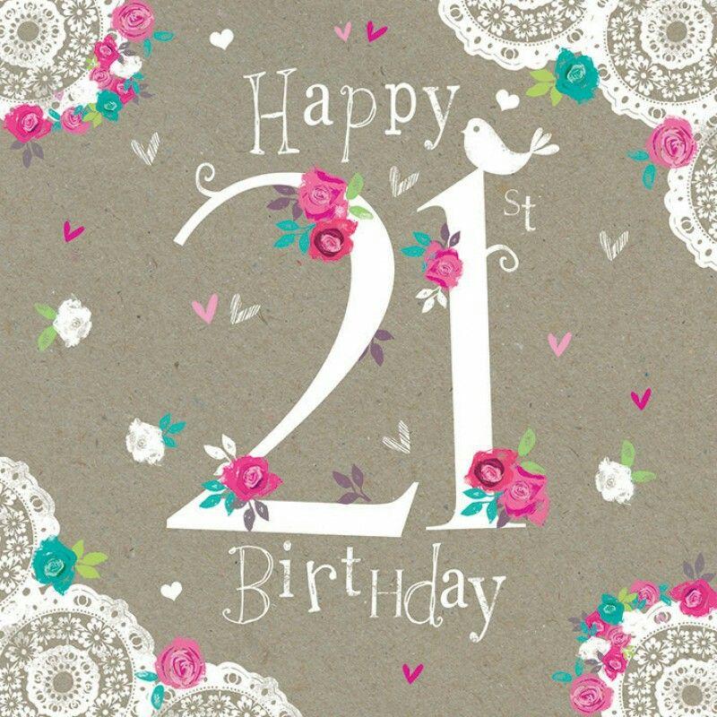 Happy 21st birthday #birthday #21st #flowers.