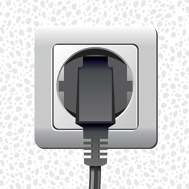 Plug 220v Clip Art, Vector Images & Illustrations.