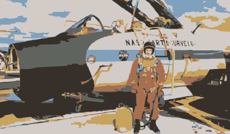 Free Clipart: NASA flight suit development images 223.