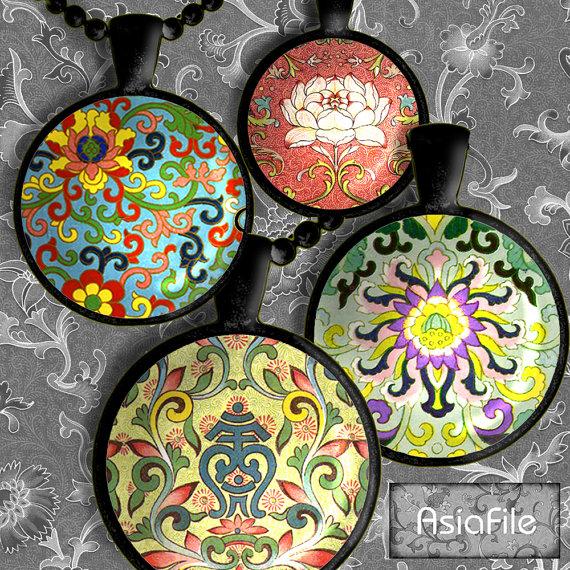 Chinese Ornament Design Asian Art Digital Art Oriental Clipart Cs.