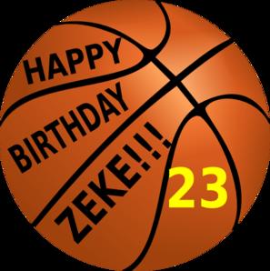 Happy Birthday 23 Clip Art at Clker.com.