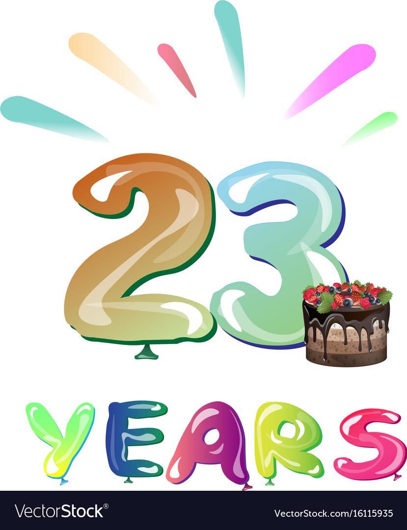 Happy anniversary 23 years.