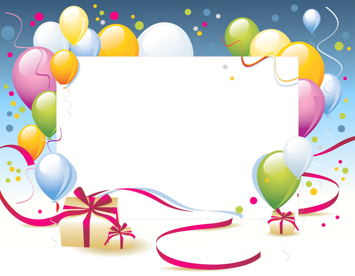 Free Happy Birthday Frame Png, Download Free Clip Art, Free.