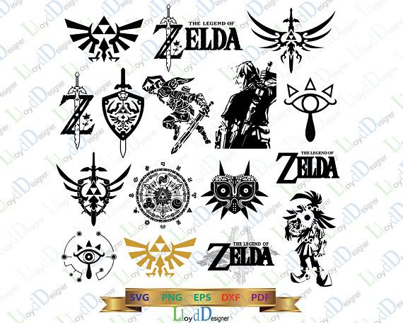 The Legend Of Zelda Clipart four swords 23.