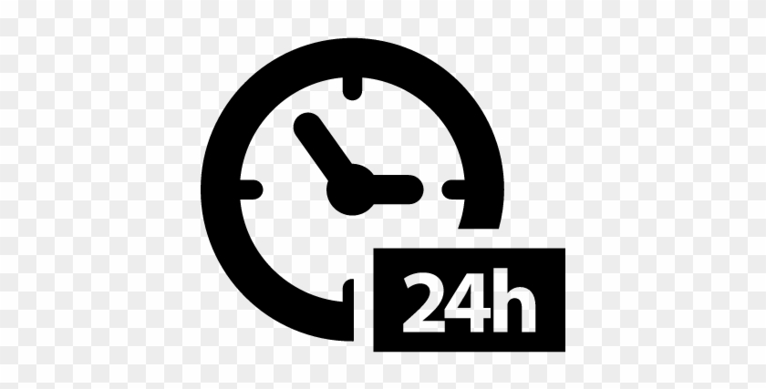 Download Free png 24 Hours Clock Symbol Vector 24 7 Icon Svg Free.