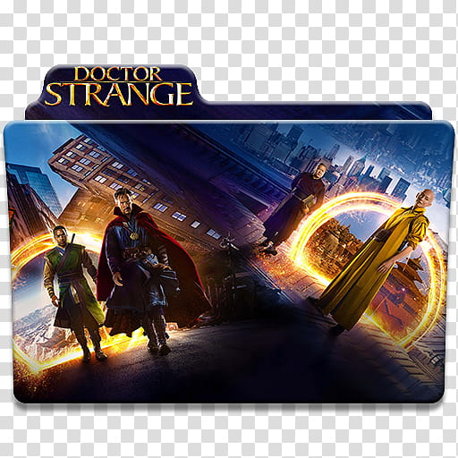 Docor Strange Movie Icons, transparent background PNG.