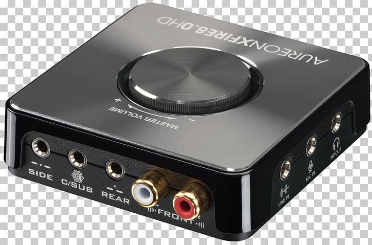 Sound Cards & Audio Adapters TERRATEC Aureon XFire 8.0 HD.