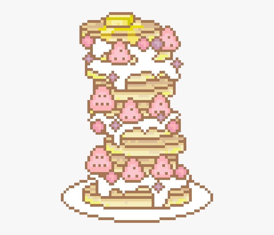Art, Pancakes, And Pixel Image.