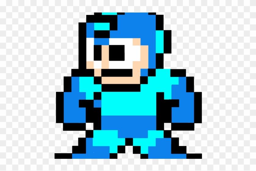 Megaman Clipart 8 Bit Png.
