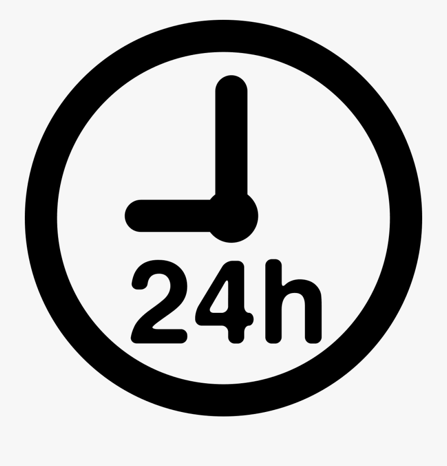 24 Hour Clock Png , Free Transparent Clipart.