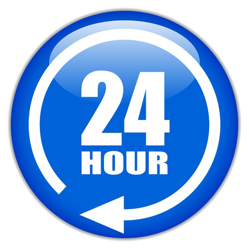 24 Hour Clock Clipart Image Gallery.