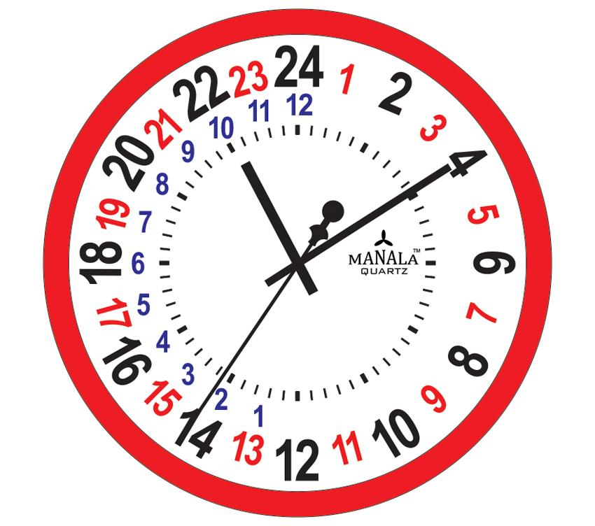 24 Hour Clock Time 24 Hour Clocks #GovJGa.