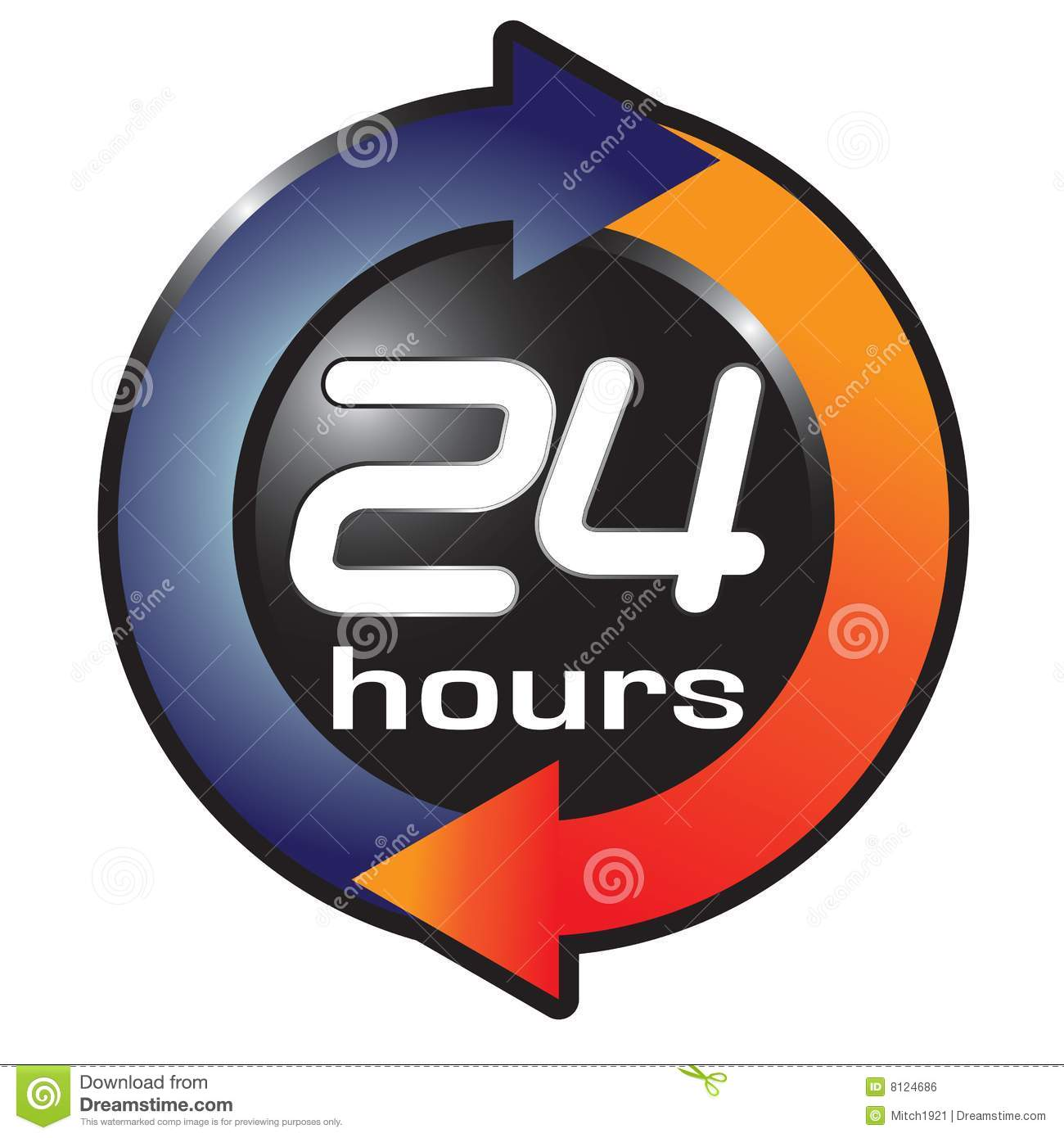 Hours Stock Illustrations.