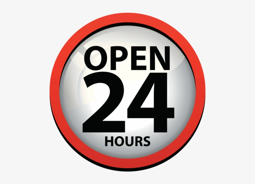 24 Hours Png Hd.