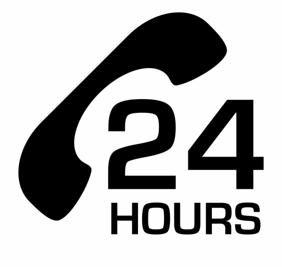 24 Hours Transparent Png.