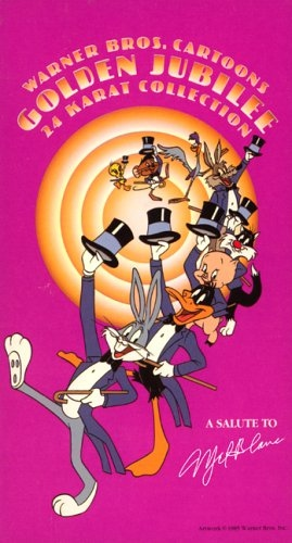 Warner Bros. Cartoons Golden Jubilee 24 Karat Collection.