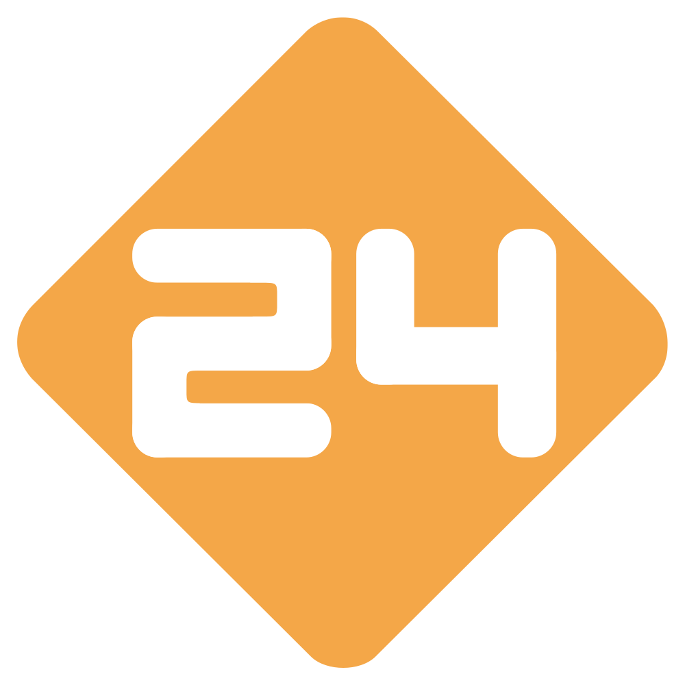 Nederland 24 Logo / Television / Logonoid.com.