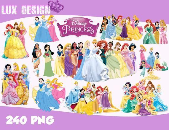 240 Disney Princess Clipart.