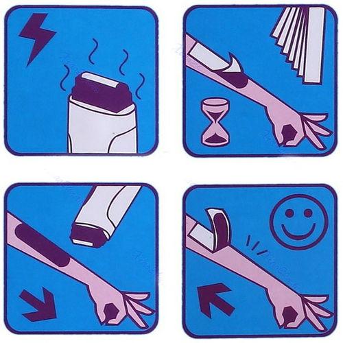 Roll On Cartridge Depilatory Wax Heater Waxing Kit Hair Removal.