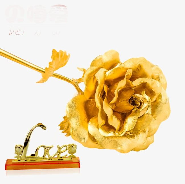 24k Gold Roses PNG, Clipart, 24k Clipart, 24k Clipart.