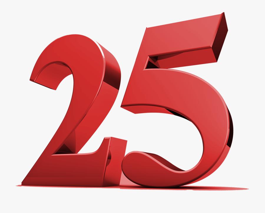 25 Aniversario , Free Transparent Clipart.