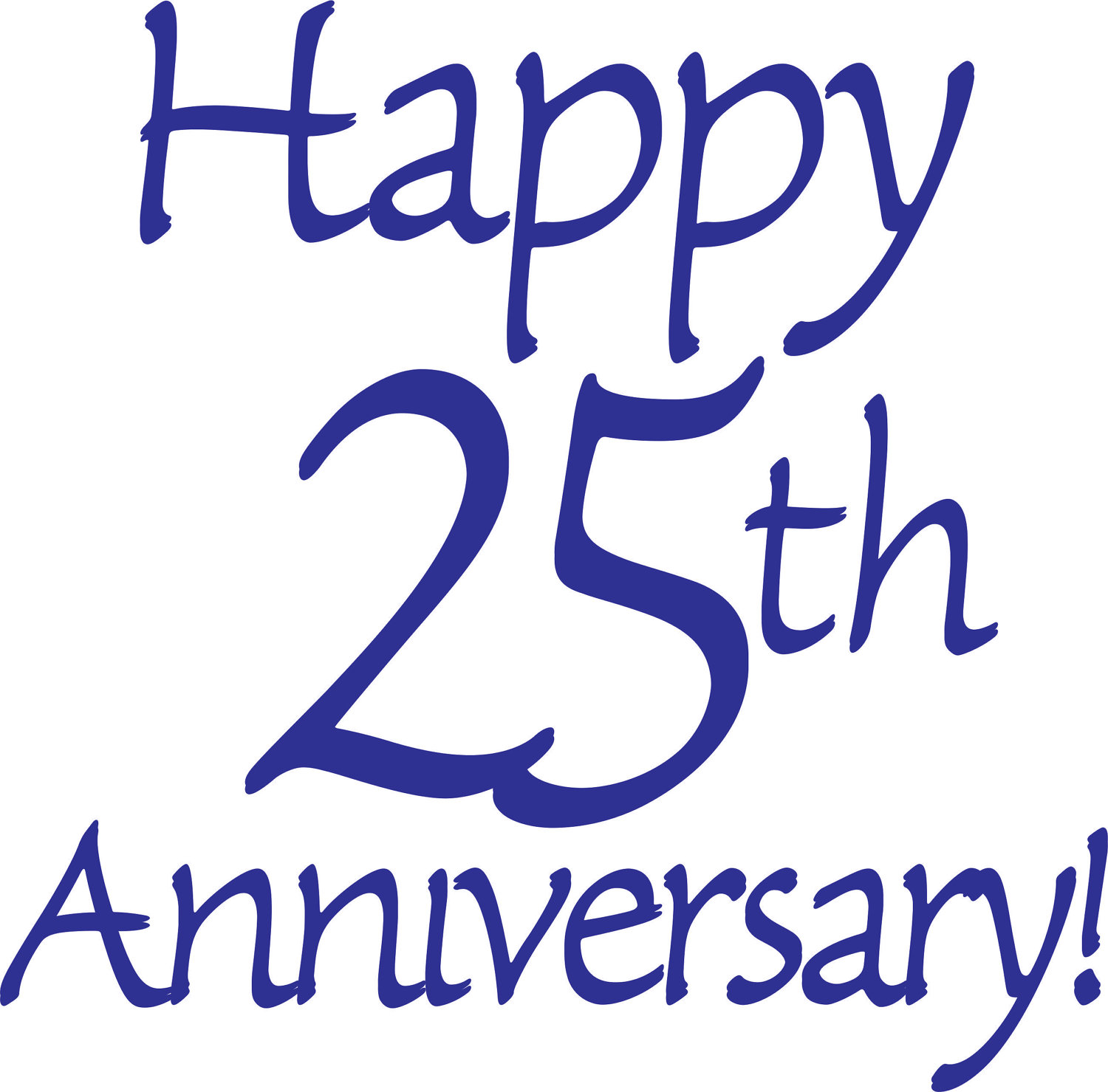 Free 25th Anniversary Cliparts, Download Free Clip Art, Free.