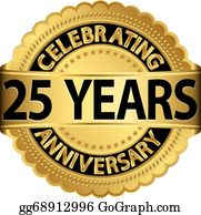 25Th Anniversary Clip Art.