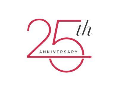 25th Anniversary.