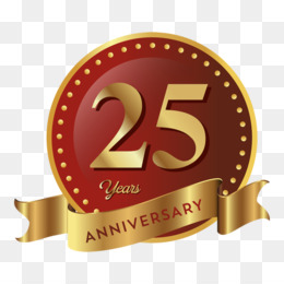 25th Anniversary PNG.