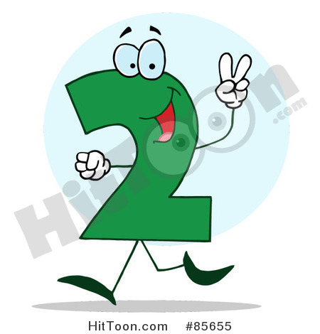 Number 52 Clipart.