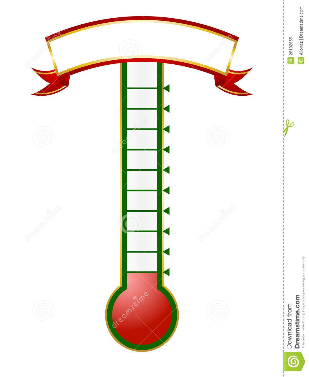 thermometer template.