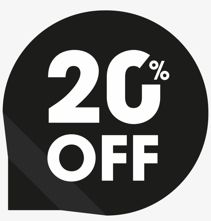 25 Percent Off Sale PNG Image.