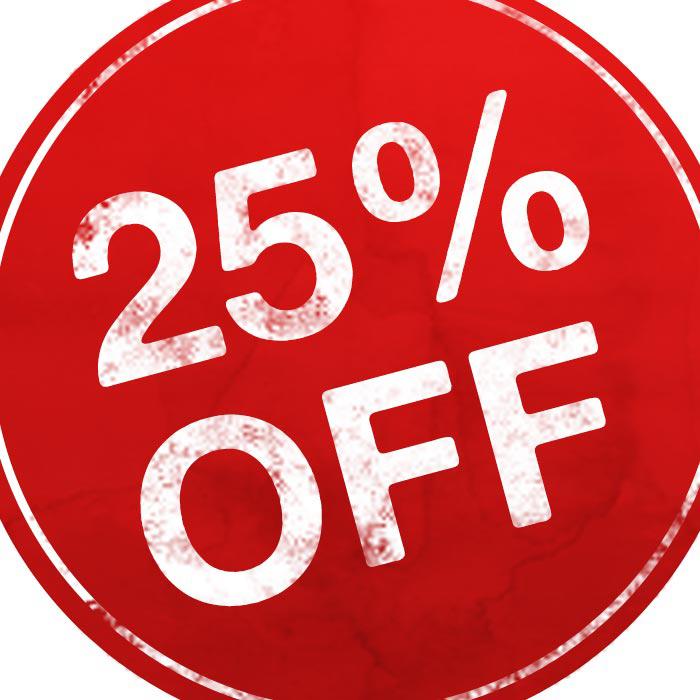 25% Off PNG Transparent Images.