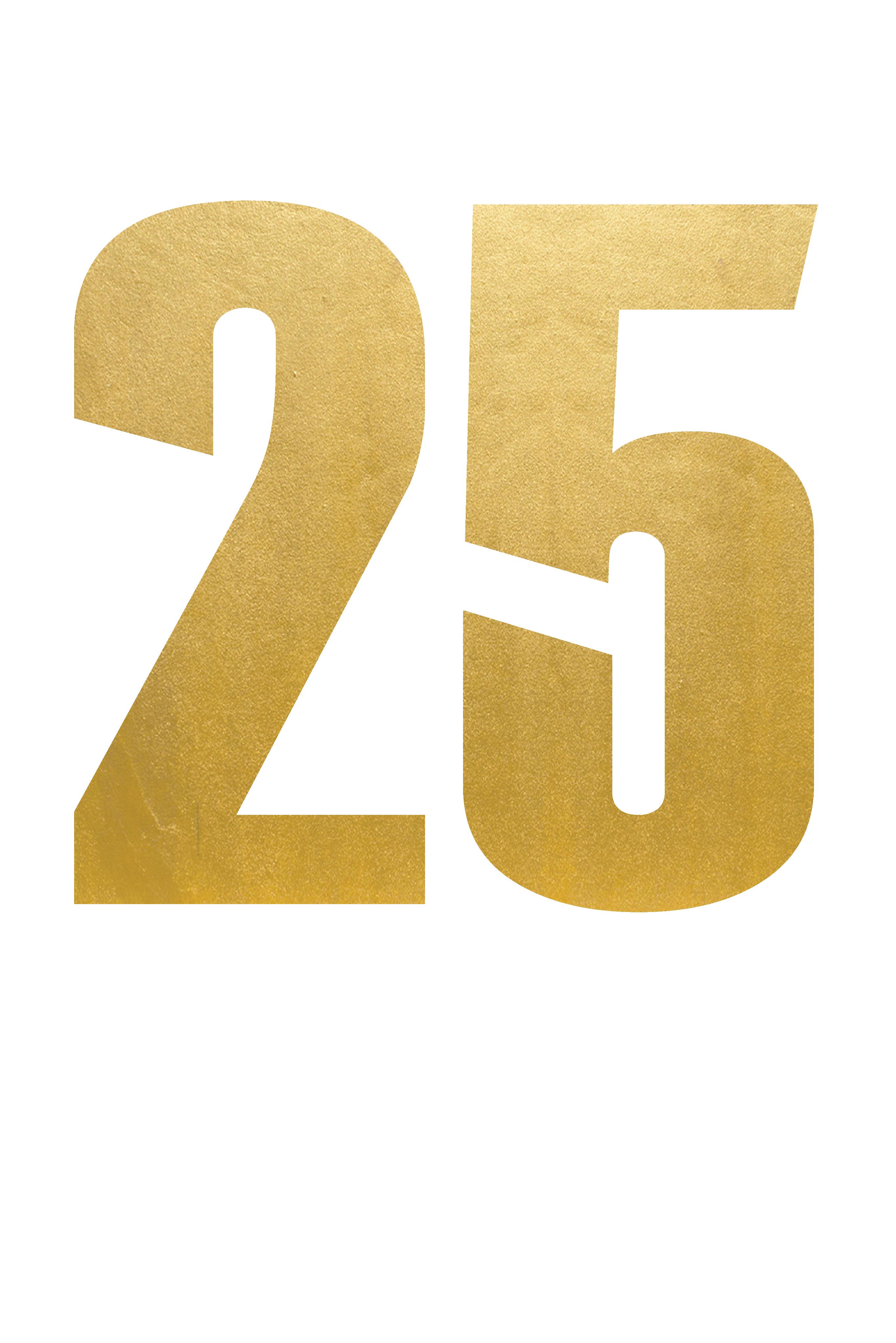 25 Number PNG Transparent Images.