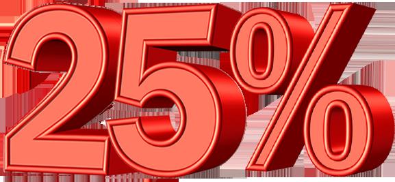 25% Off PNG Transparent Images 21.