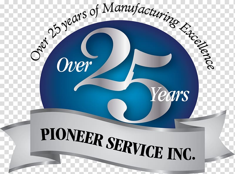 Logo Holding company Corporation Brand, 25 years Anniversary.