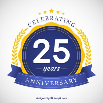 25 Years Vectors, Photos and PSD files.