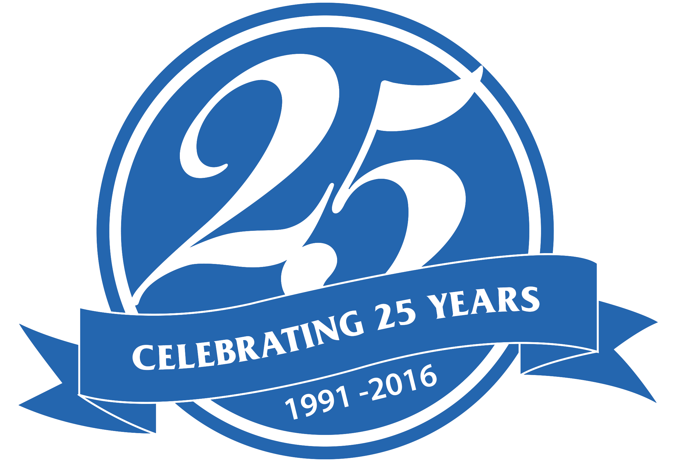 25 years logo png 7 » PNG Image.
