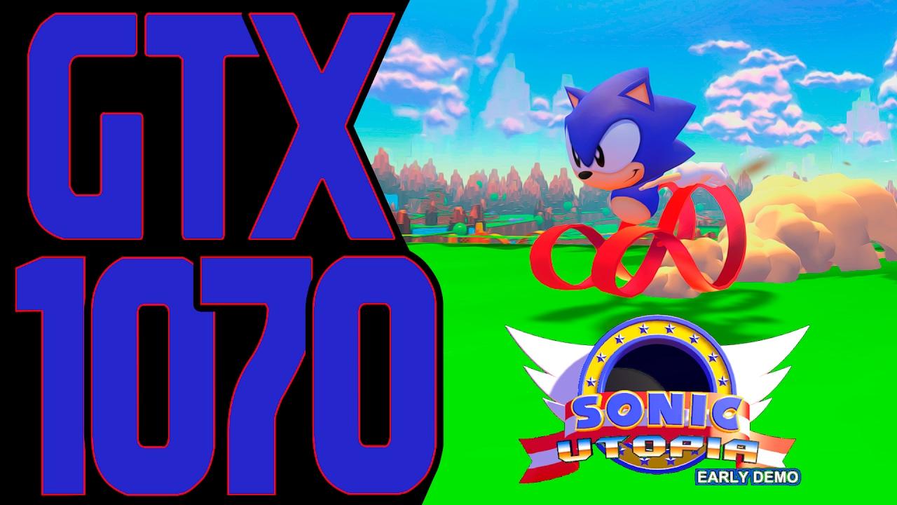 Sonic Utopia GTX 1070 G1 GAMING & i5 6600K OC.