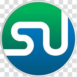 Favicon Dock Style v , x StumpleUpon, SU logo icon.