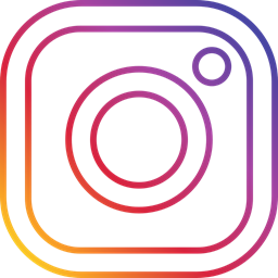 photo, round, Social, Instagram icon.