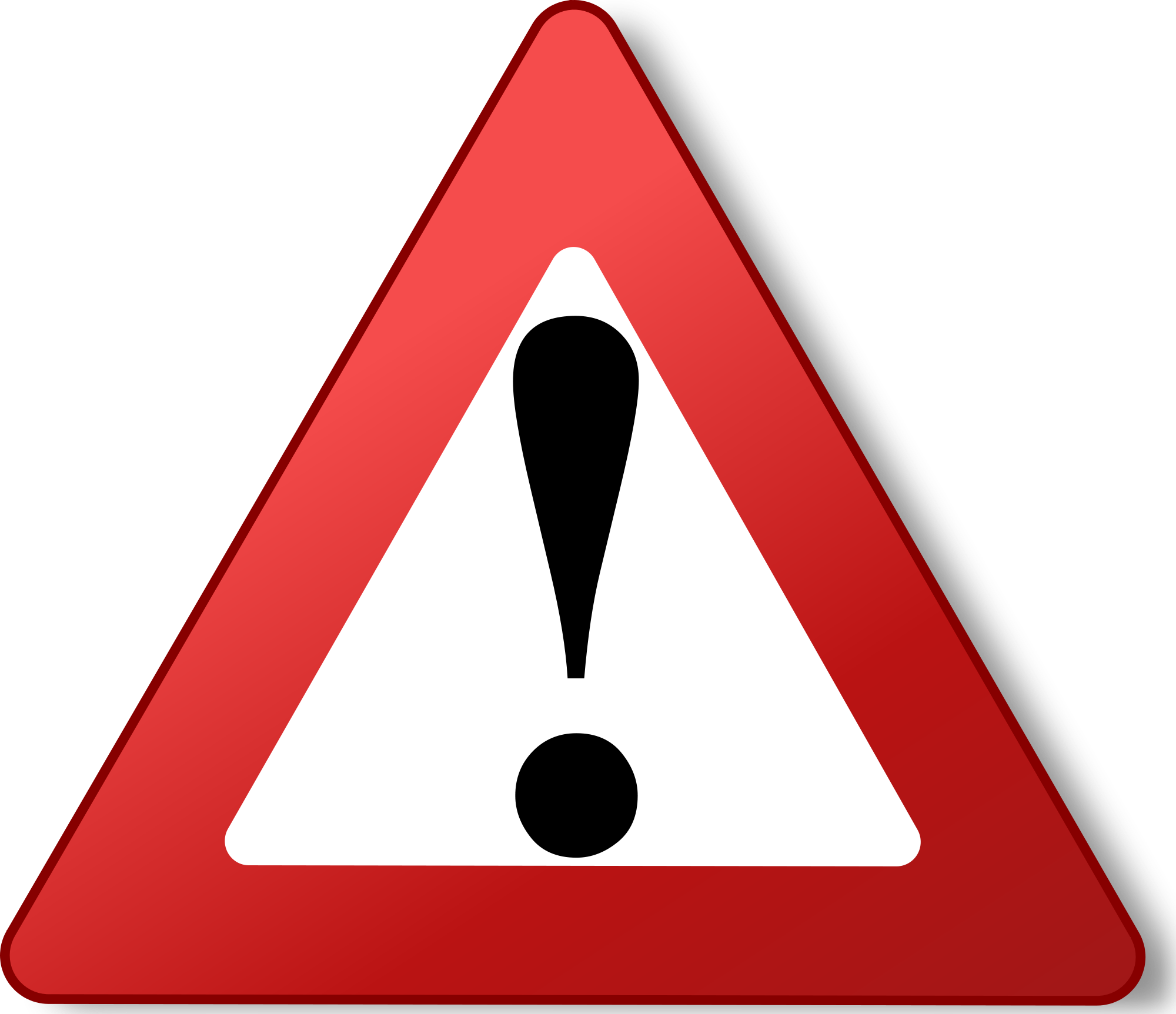 Warning Triangle 256x256 Png Icon.