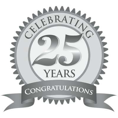 25th Anniversary Clipart Sheets 3459.